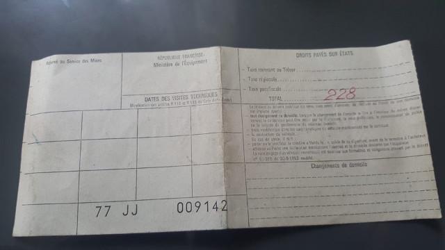 [R6 TL - 1973] Sortie de grange ! E0t2l6