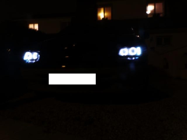 Installation de phares angel eyes sur mon S3 AWD LX Eakeo1