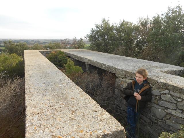 Bunker commandement d'aérodrome : Nîmes - Courbessac (30) J8xnrd