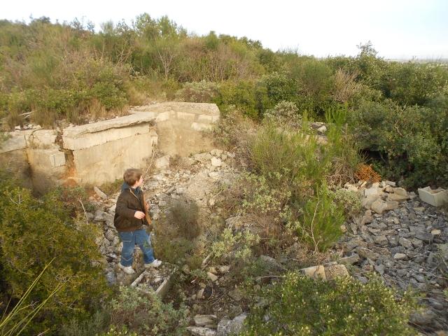 Bunker commandement d'aérodrome : Nîmes - Courbessac (30) Re6tnu