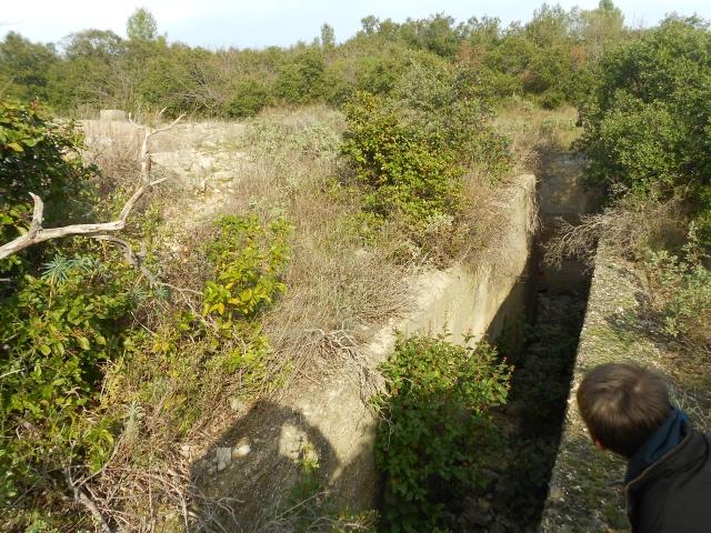 Bunker commandement d'aérodrome : Nîmes - Courbessac (30) Tmqime