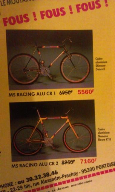 MS Racing Pro Comp XT (cadre + fourche seulement !) Gvwx6r
