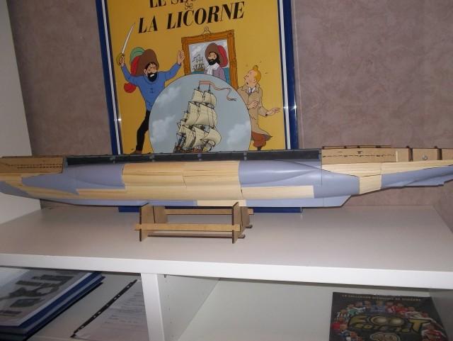 Sous-marin U96 marque Hachette échelle 1/48 Ls41rw