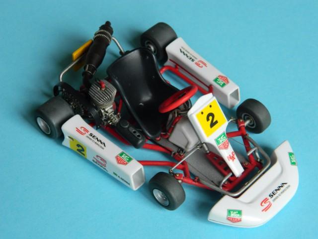 Kart  A. SENNA Bercy 93. Fujimi 1/20ème. fini . - Page 2 3j4p8d