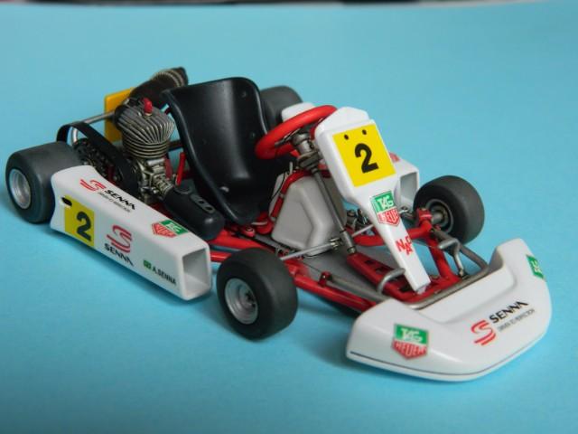 Kart  A. SENNA Bercy 93. Fujimi 1/20ème. fini . - Page 2 6q6200