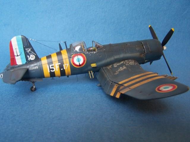 Corsair F4u-7 et Fg-1d. 74t18g