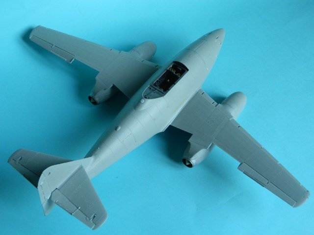 Me 262 A 1a. 1/32 Trumpeter . - Page 2 9mswko