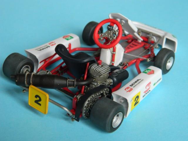 Kart  A. SENNA Bercy 93. Fujimi 1/20ème. fini . - Page 2 Iw1458