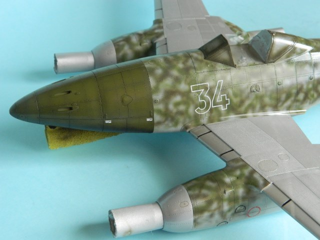 Me 262 A 1a. 1/32 Trumpeter . - Page 2 Mg74hf