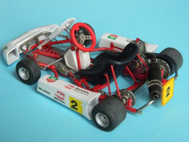 Kart  A. SENNA Bercy 93. Fujimi 1/20ème. fini . - Page 2 Q8n3qt