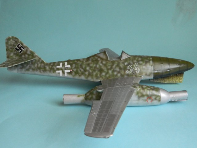 Me 262 A 1a. 1/32 Trumpeter . - Page 2 Qu3hiy