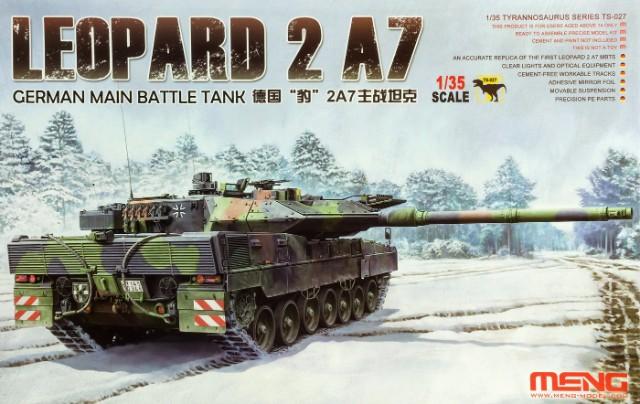 LEOPARD 2 A7 - 1/35 Meng. Fertig. R5b8wk