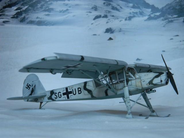 Fieseler Fi-156. Tamiya 1/48. Fertig. - Page 2 To7nur