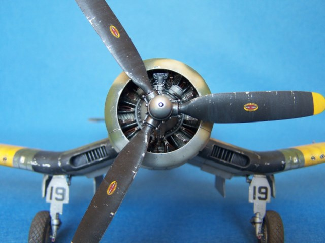 Corsair F4u-7 et Fg-1d. Wckftn