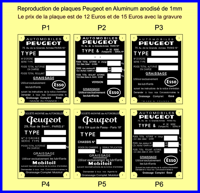 Recherche plaque constructeur for Recherche constructeur
