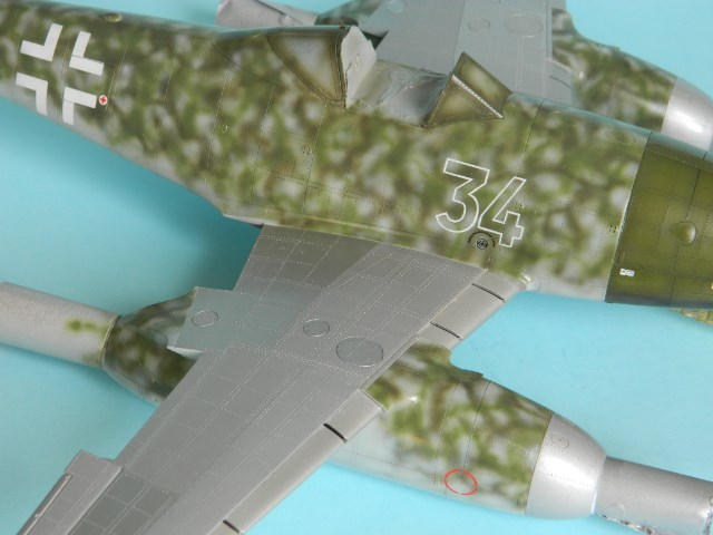 Me 262 A 1a. 1/32 Trumpeter . - Page 2 Ydwal0